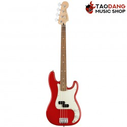 เบสไฟฟ้า Fender Player Precision Bass PF สี Sonic Red