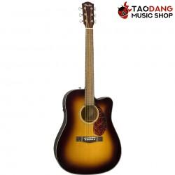 กีต้าร์โปร่งไฟฟ้า Fender CD-140SCE สี Sunburst